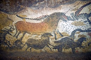 Lascaux - reproduction of Lascaux artwork in Lascaux II