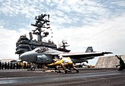 Last VA-34 A-6E Intruder launch from USS George Washington (CVN-73) on 22 July 1996 (6526829)