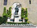 Lausanne, Château Saint-Maire, monument Davel.jpg