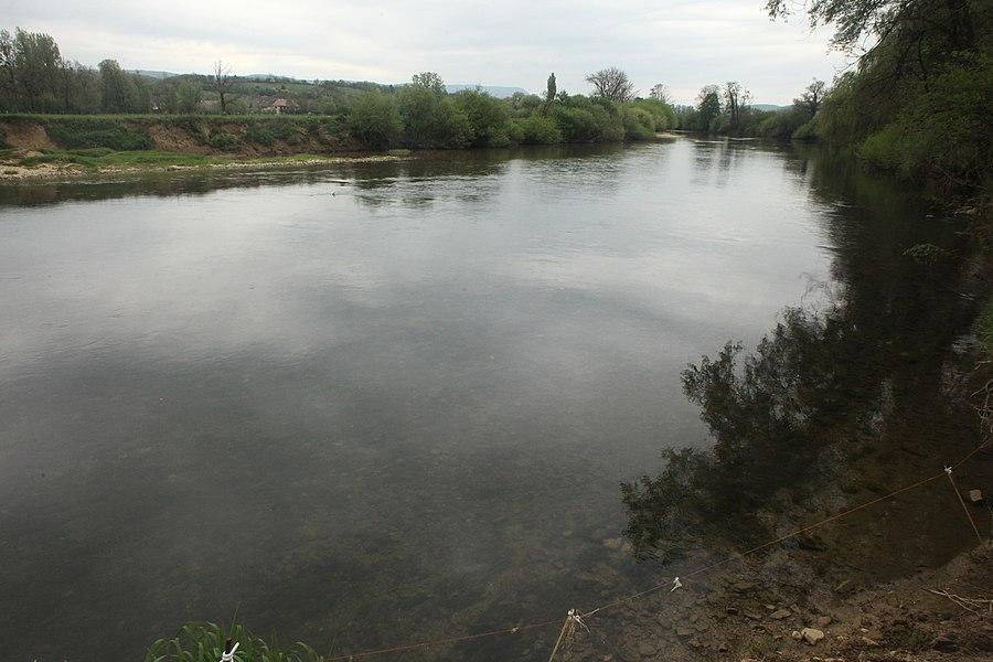 La Loue à Lavans-Quingey (Doubs).