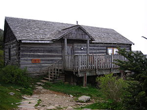 Mount Le Conte (Tennessee) - The office of the LeConte Lodge