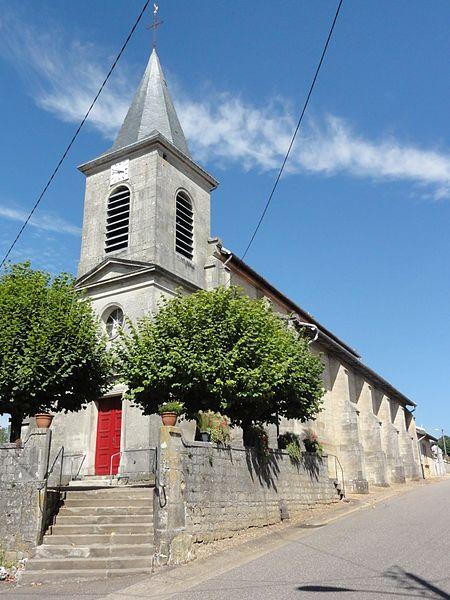 Le Bouchon-sur-Saulx (Meuse) église