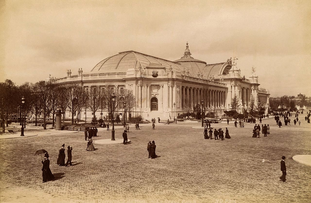 File le grand palais exposition universelle de wikimedia commons - Exposition paris grand palais ...