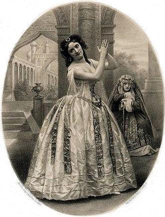 Le papillon (ballet) - Marquet as the Fairy Hamza