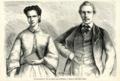 Le Roi Louis Ier et la Reine de Portugal. - Dessin de Mlle Maria Chenu.png