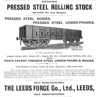 Samson Fox - Fox Pressed Steel undercarriage.
