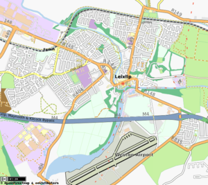 Leixlip - Map of Leixlip (from OpenStreetMap)