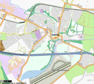 Leixlip - Map of Leixlip (from OpenStreetMap)