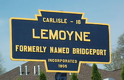 Official logo of Lemoyne, Pennsylvania