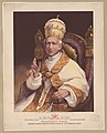 Leo XIII. Born March 2d 1810. Elected Febr. 20th 1878. Gioachimo (sic) Pecci. Authentic portrait from the Vatican album of the Ecumenical Council. LCCN2009633801.jpg