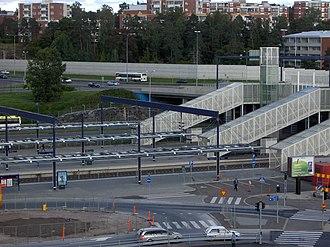 Leppävaara station - Image: Leppävaaran juna asema Espoo Finland