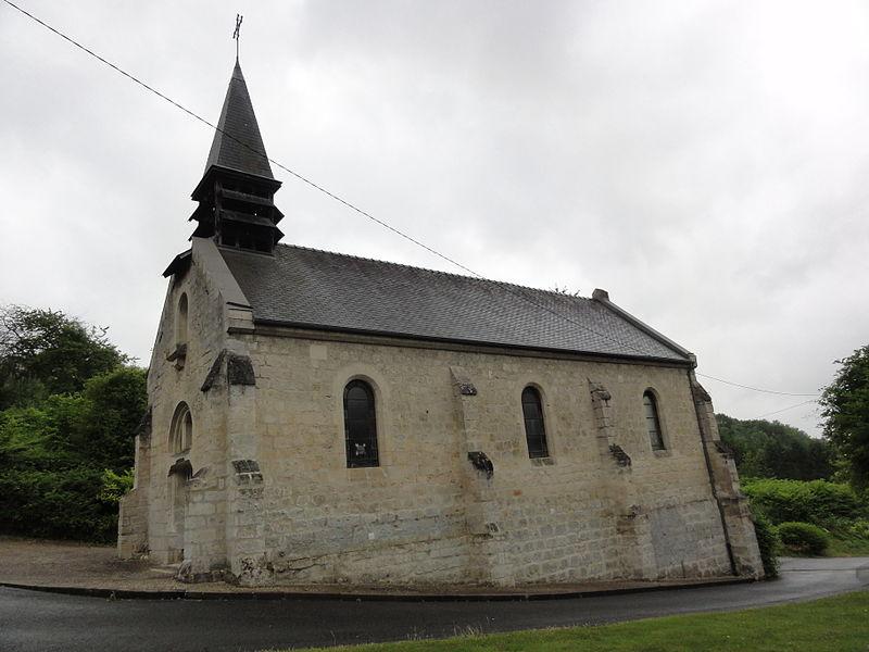 Leury (Aisne) église Notre-Dame-et-Saint- Nicodème