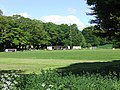 Lex XI football club ground, Wrexham - view from Mold Road (1).JPG