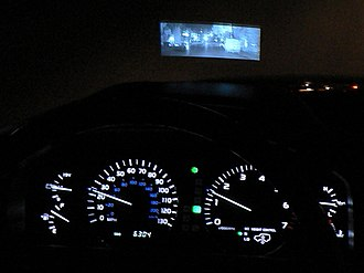 Automotive night vision - Night View system on the 2003 Lexus LX 470