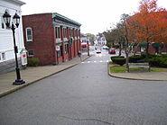 Leyden Street in Plymouth Ma