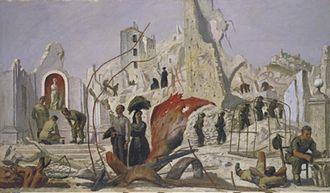 Henry Carr (artist) - Liberation (Art.IWM ART LD 4515)