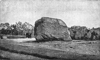 John Boyle O'Reilly - O'Reilly's grave, circa 1891