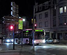 Liste des lignes de bus de strasbourg wikip dia for Horaires bus ligne 29 arles salon