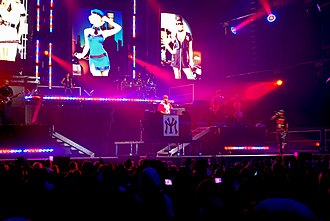 """Mrs. Officer - Lil Wayne performing """"Mrs. Officer"""" at General Motors Place concert in Vancouver in January 2009."""