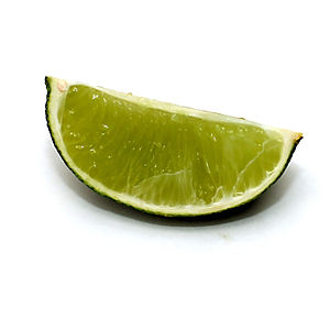 A wedge of lime