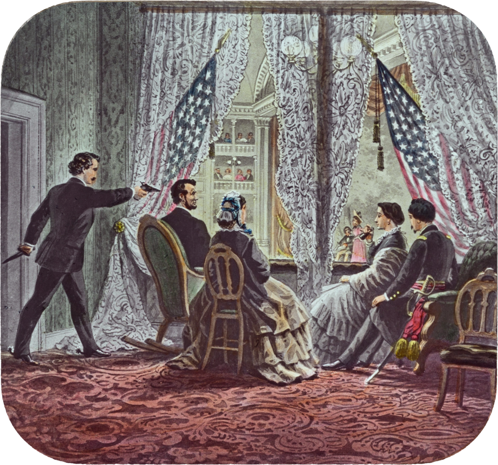 Lincoln assassination slide c1900.png