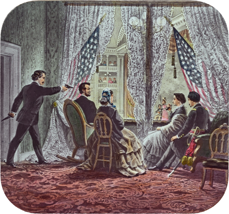 Lincoln assassination slide c1900.png