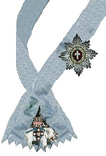 Lint en ster van de Orde van de Olifant.jpg