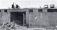 Obiekt Little Ferry po pożarze