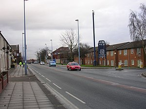 Little Hulton - Image: Little Hulton geograph.org.uk 112903