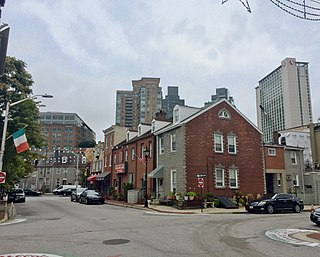 Little Italy, Baltimore Neighborhood of Baltimore in Maryland, United States of America