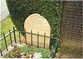 Little John's grave at parish church of St Michael in Hathersage - geograph.org.uk - 62662.jpg