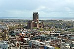 Liverpool Anglican Cathedral from St John's Beacon 1.jpg