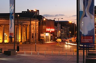 Hope Street, Liverpool street in Liverpool, England