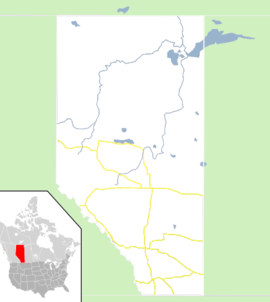 Edmonton is located in Alberta