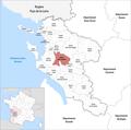 Locator map of Kanton Saint-Porchaire 2019.png