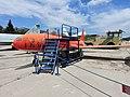 Lockheed T-33A trainer aircraft - Αεριωθούμενο εκπαιδευτικό αεροσκάφος (26937925412).jpg