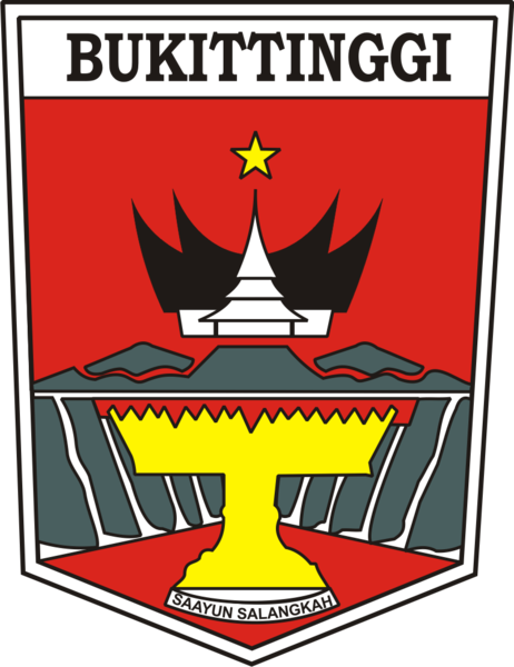 File Logo Kota Bukittinggi Png Wikimedia Commons
