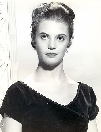 Lois Smith - Lois Smith in 1955 at the Warner Bros. studio publicity photo