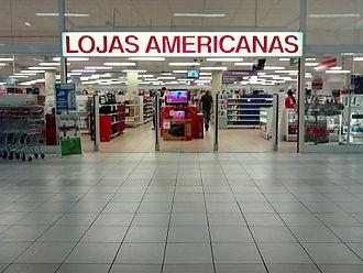 Lojas Americanas - Store in Tangará da Serra, Mato Grosso, inaugurated in November 2011.