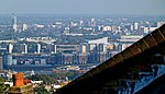 London, view from Shooters Hill, North Woolwich & City Airport2.jpg