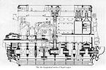 Longitudinal section, Bugatti U-16.jpg