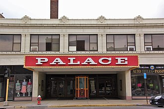 Lorain, Ohio - Image: Lorain Palace Theater