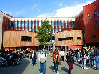 Anglia Ruskin University - Lord Ashcroft Building houses the Lord Ashcroft International Business School.