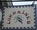 Lorraine's restaurant sign, Provincetown, MA, USA.JPG