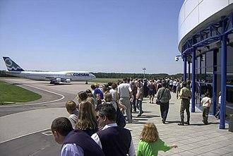 Szczecin agglomeration - Image: Lotnisko Szczecin Goleniów