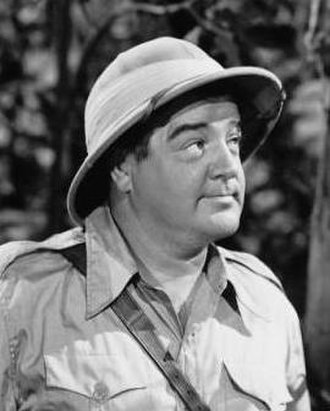 Lou Costello - Costello in Africa Screams, 1949.