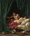 Louis-Jean-François Lagrenée - Marte y Venus, alegoría de la Paz, Jean Paul Getty Museum, 1770.jpg