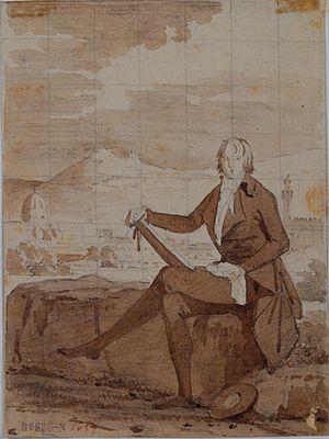 Thomas Penrose - Portrait of Thomas Penrose by Louis Gauffier