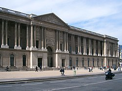 The colonnade of the Louvre