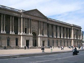 Style Louis XIV - Image: Louvre Kolonnaden